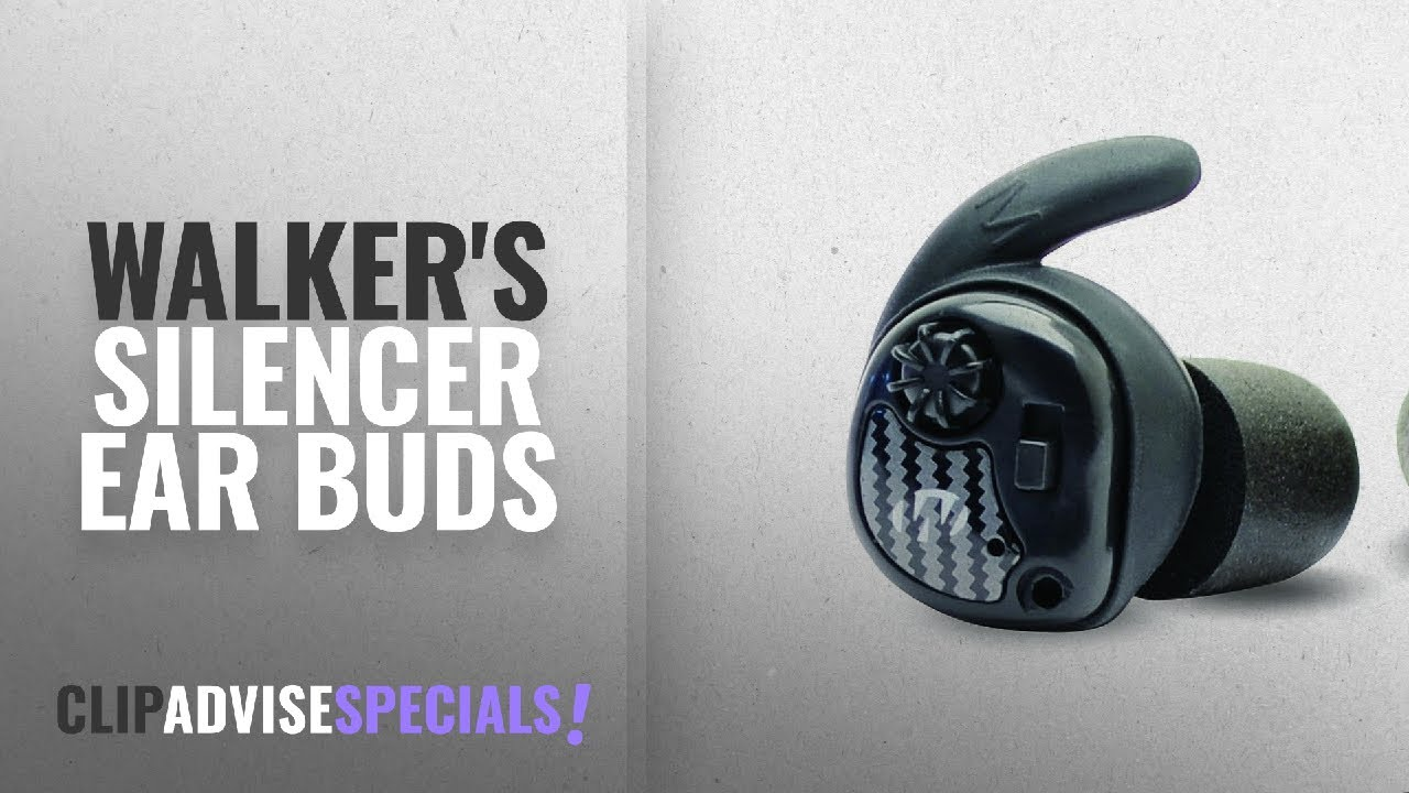 a58ae9cc766 Top 10 Walker'S Silencer Ear Buds [2018]: Walker's Razor Silencer ...