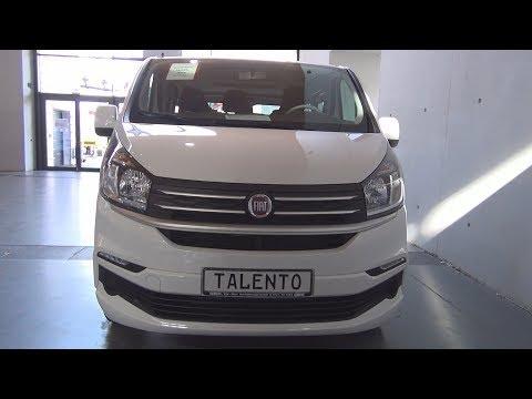 Fiat Talento Combi M1 Family 1.6 EcoJet 95 Turbo 1.0t L1H1 (2018) Exterior And Interior