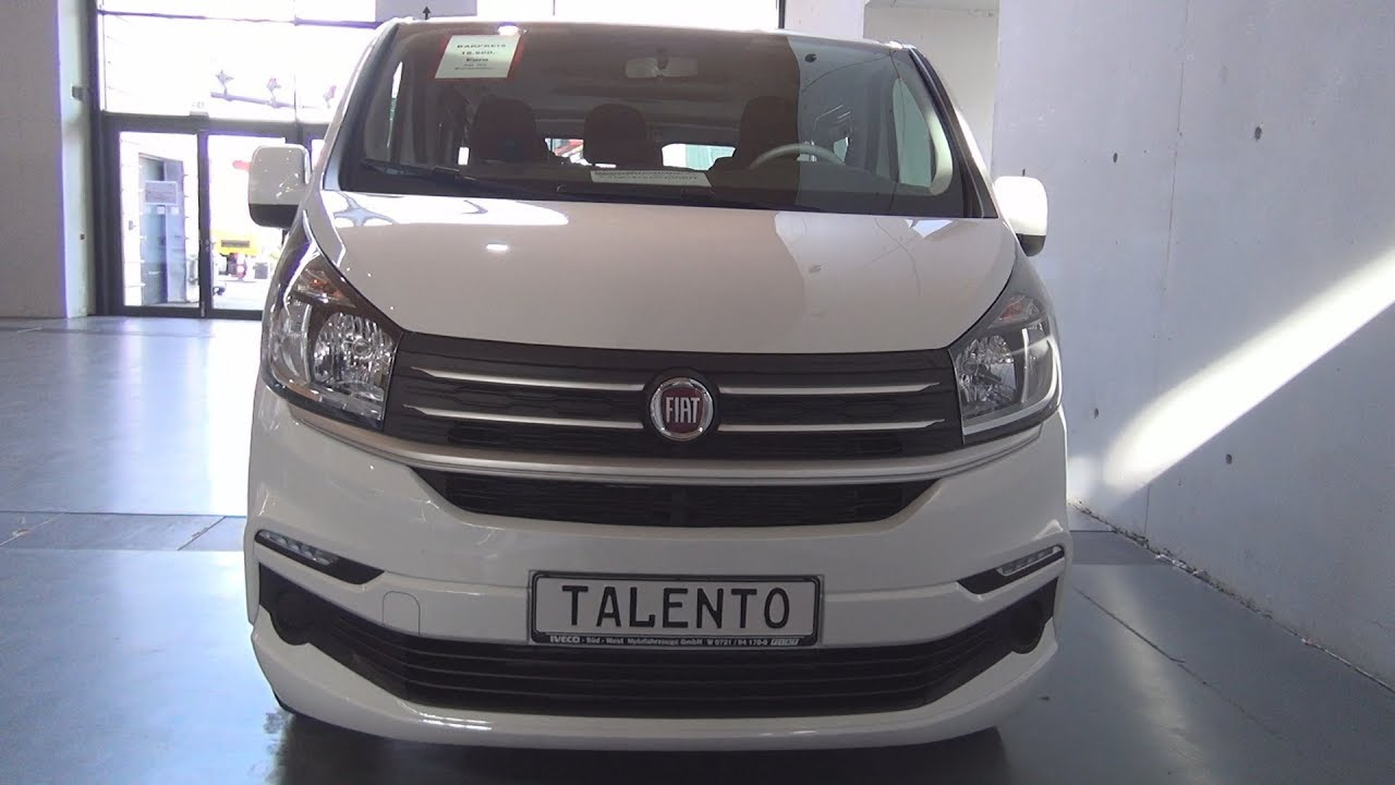 fiat talento combi m1 family 1 6 ecojet 95 turbo l1h1 2018 exterior and interior youtube. Black Bedroom Furniture Sets. Home Design Ideas