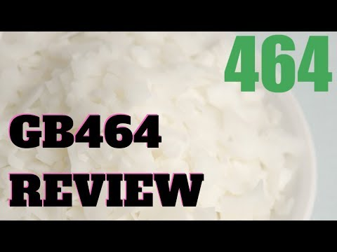GB464 soy candle wax review - YouTube