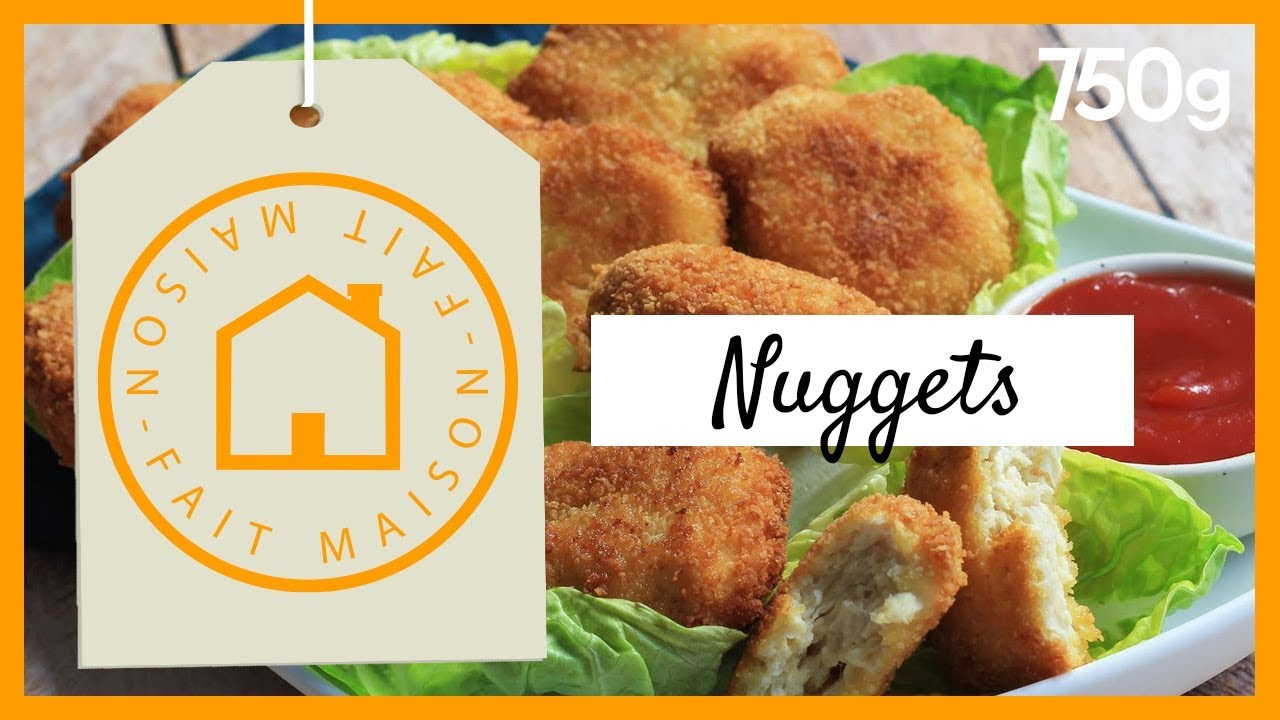 Recette De Nuggets Fait Maison 750g Youtube