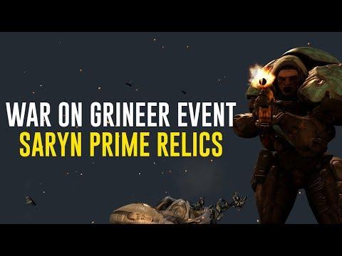 Weekend Event - War on Grineer: Saryn Relics (Warframe) thumbnail