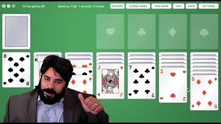Game Rating Review of Solitaire: The Computer Game!!!