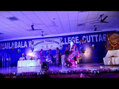 SHAILABALA WOMEN'S COLLEGE , ( Santali dance 2018 ) (Annual function 2018) At Cuttack