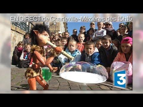 Direct - Festival mondial des théâtres de marionnettes à Charleville-Mézières