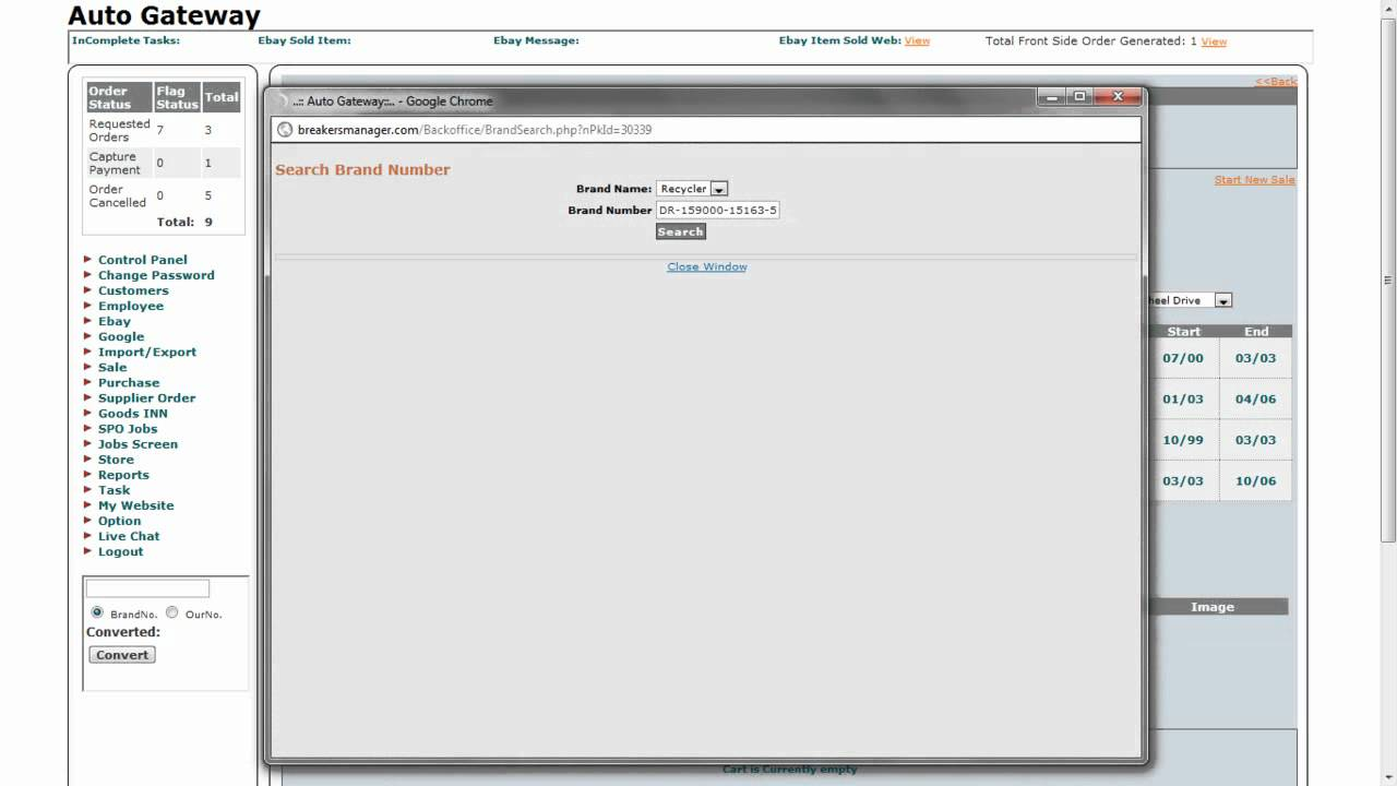 Free Automobile Inventory Software How To Manage Sale Item Youtube