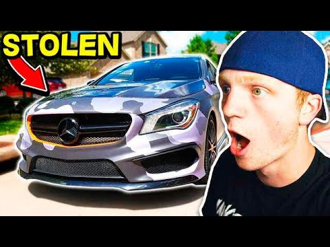 I TOOK UNSPEAKABLE GAMING'S NEW CAR! 🚘😱 (BAD IDEA)