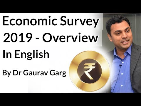 Economic Survey 2018-19 - An Overview In ENGLISH, Major Highlights Of Economic Survey 2019