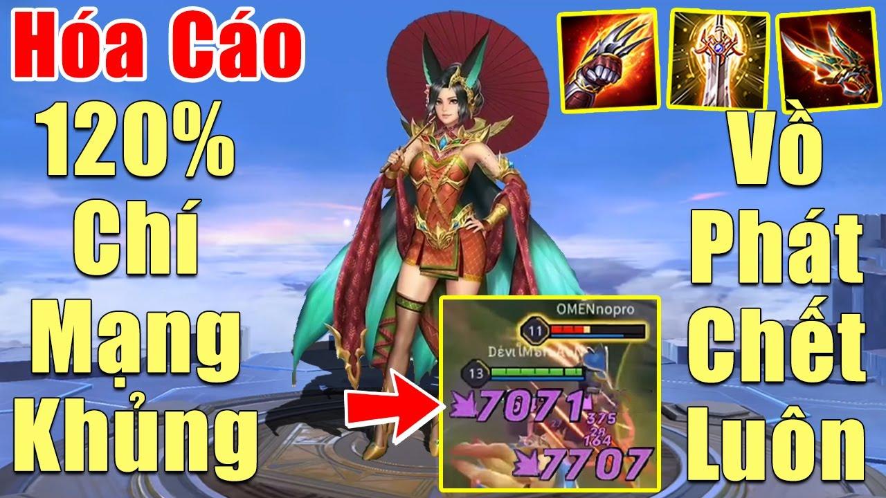 [Gcaothu] Hóa Cáo cào chí mạng Khổng Lồ - Liliana kết hợp 120% chí mạng tuyên bố vồ phát chết luôn