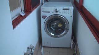 트롬 세탁기 분리 이전 운반 옮기기 설치 이사 방법 S…