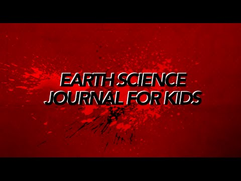 Earth Science Journal for Kids Trailer