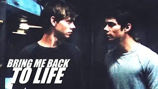 Newt & Thomas | he'd be proud of you, Tommy. [SPOILERS FOR TST]