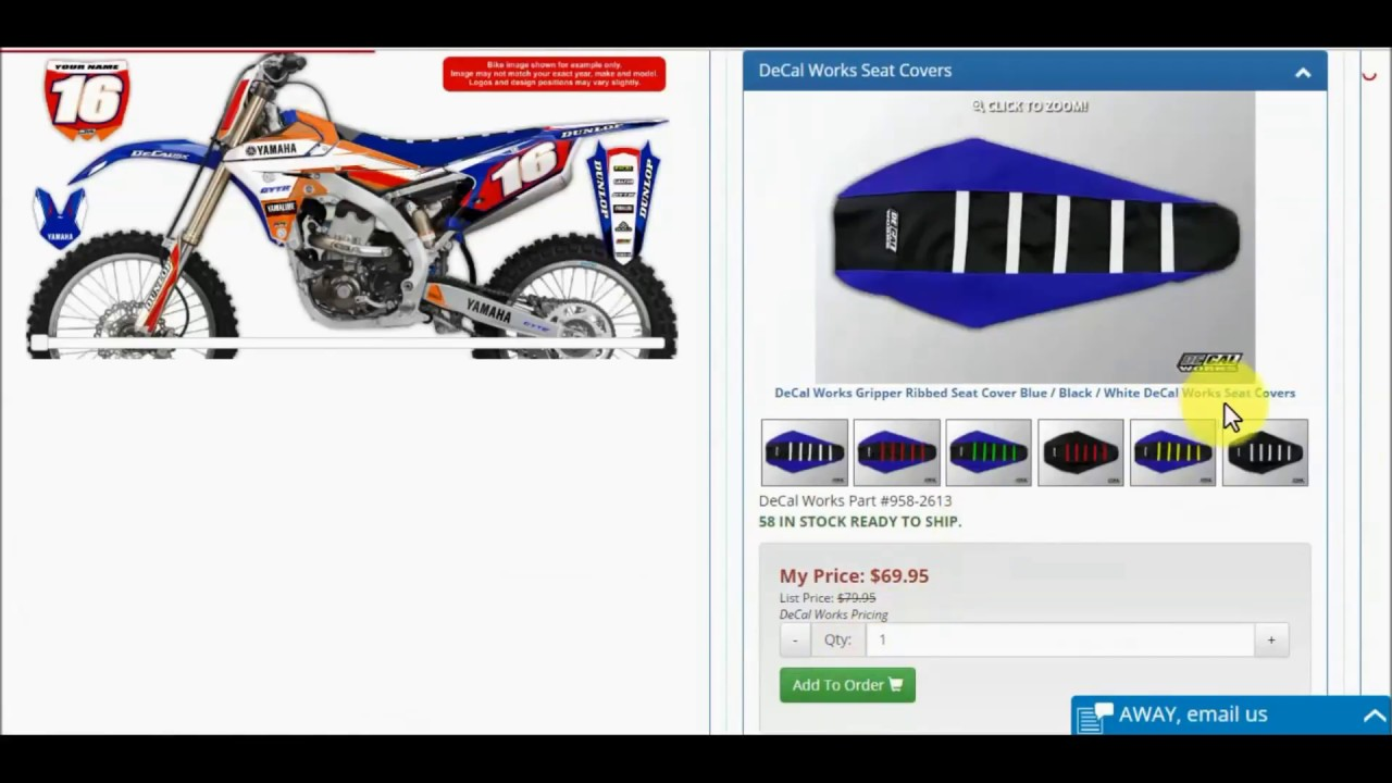 The Original MX Graphics Company DeCal Works - Decal works graphics