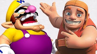 Clash of clans X Wario... Mini Pelicula 2018