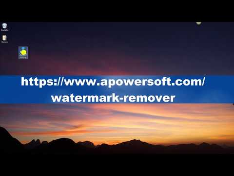 How To Use Apowersoft Watermark Remover