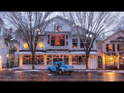 Quaint New England Life during the Holidays (Marine Surprises Brother)