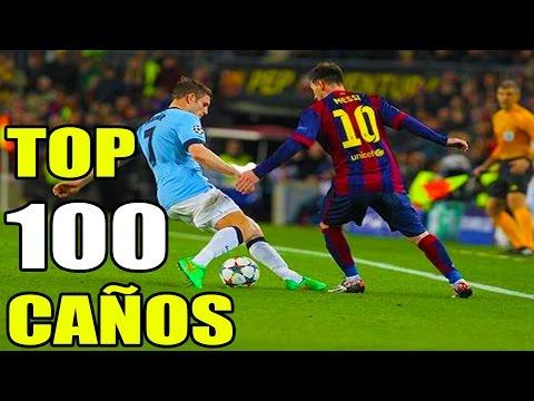 Lionel Messi M10 ► TOP 100 De Los Mejores Caños/Tuneles ★ 2015 HD