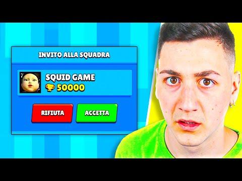 """RICEVO L'INVITO DA """"SQUID GAME"""" SU BRAWL STARS E..."""