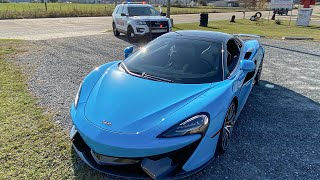 Cop Stopped Me for Speeding in My McLaren!