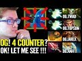 Miracle: I'm INSANE - Terrorblade VS 4 Counter pick - Dota 2 Liquid vs OG