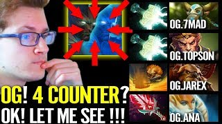 Miracle: I'm INSANE - Terrorblade VS 4 Counter pick - Dota 2 Liquid vs OG