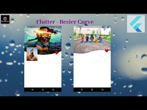 Flutter Tutorial - Flutter Bezier Curve : FlutterDev