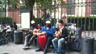 Street Reggae Artists in Copenhagen