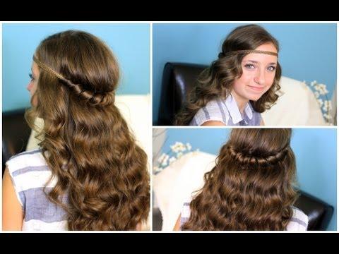 ❀ Headband Twist | Half-Up Half-Down Hairstyles ❀ thumbnail