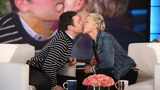 A Look Back at Ellen's Most 'Touching' Moments