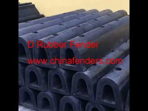 Marine Rubber D Fender-chinafenders.com