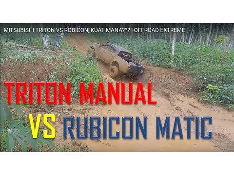 MITSUBISHI TRITON VS  ROBICON, KUAT MANA??? | OFFROAD EXTREME
