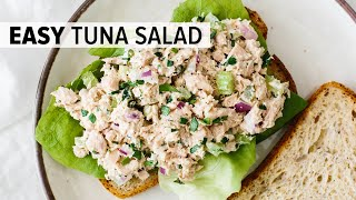 BEST TUNA SALAD RECIPE