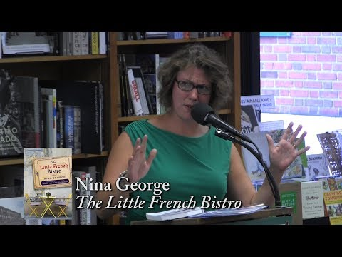 "Nina George, ""The Little French Bistro"""