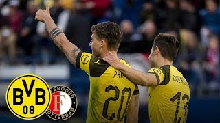 Philipp strikes again, Guerreiro cold as ice! | BVB vs. Feyenoord 2-1 | All Goals and Highlights