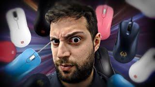 Antes de comprar un mouse... Mira este video 😡 | Todos los mouse de Zowie thumbnail