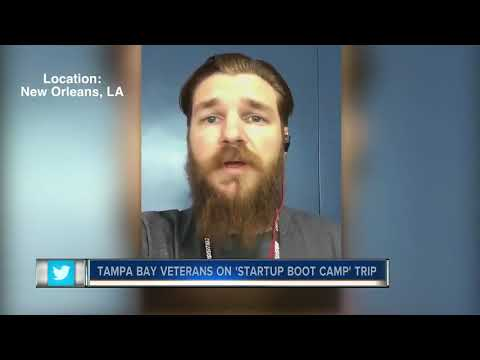 Tampa Bay Area military veterans learning how to start their own business in a unique way