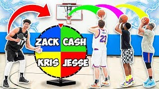 EXTREME BASKETBALL Spin-the-Wheel BANK! PAINFUL FORFEIT!