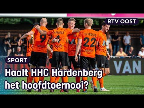 Kijk terug: HHC Hardenberg tegen Capelle in de KNVB Beker