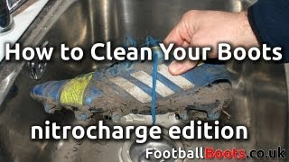 How to Clean Your Football Boots - nitrocharge edition