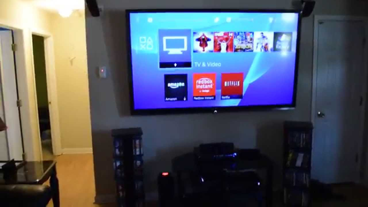 Best tv wall mount 2014 youtube for Living room with 65 inch tv