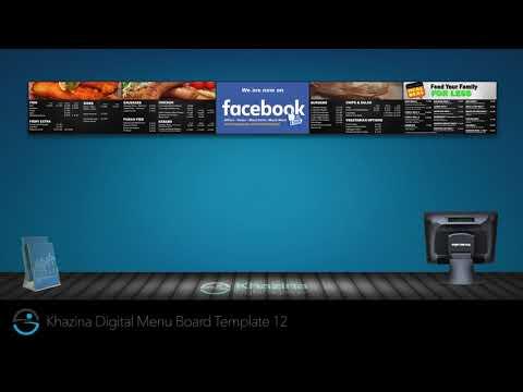 Digital Menu Board (Fish N Chips)