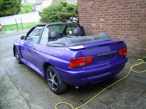 ford escort cosworth cabriolet project youtube. Black Bedroom Furniture Sets. Home Design Ideas