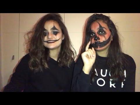 Halloween Makeup challenge w/ Dana Chehab // Pamela Kawass