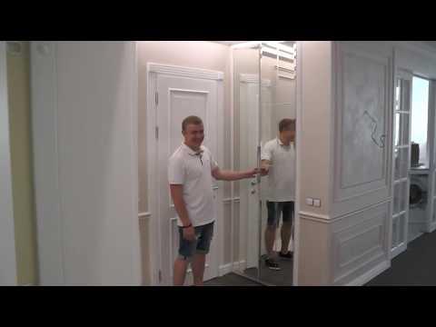 двери гармошкой для гардеробной!