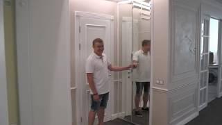 видео Зеркальные межкомнатные двери. Возможности, преимущества и недостатки