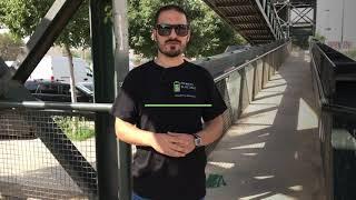 Patinete eléctrico The Urban #BRLN 350W prueba de subida en pendiente