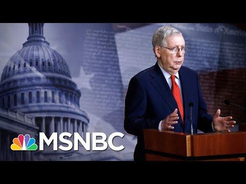 New York Gov. Andrew Cuomo Blasts McConnell For Calling COVID-19 Aid 'Blue State Bailouts' | MSNBC