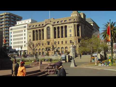 Josh/EJ - City Center of Pretoria, South Africa - Andries Pretorius Statue