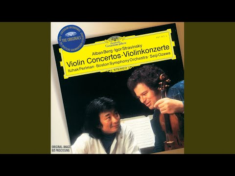 """Berg: Violin Concerto """"To The Memory Of An Angel"""" - 1. Andante - Allegro"""