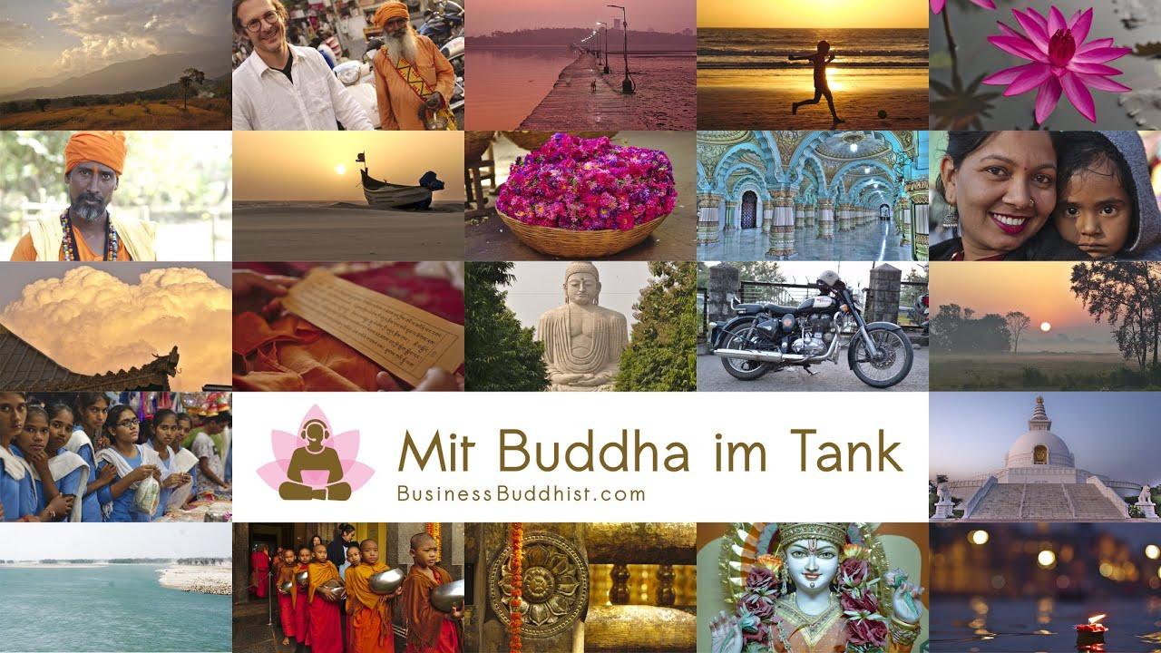 Mit Buddha im Tank - Ein Roadmovie eines Aussteigers und digitalen Nomaden quer durch Indien